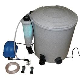Easy pod koifilter fra evolution aqua for Koi dam utstyr