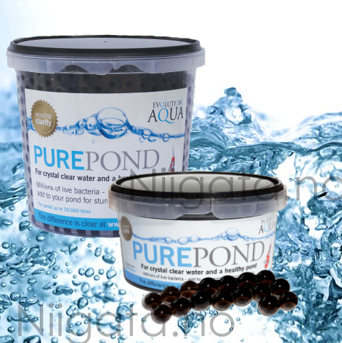 Pure pond baller for Koi dam utstyr