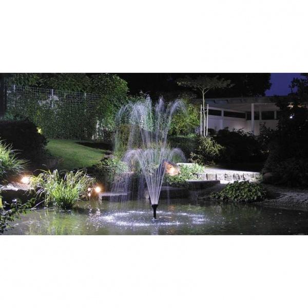 Aquarius fontene sett fra oase for Koi dam utstyr