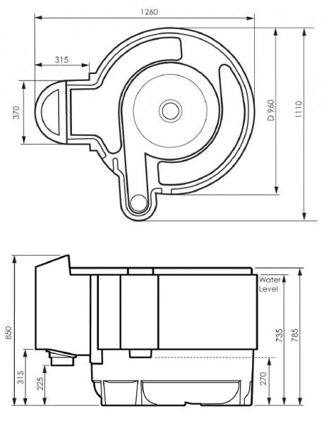 Nexus koifilter fra evolution aqua for Koi dam utstyr